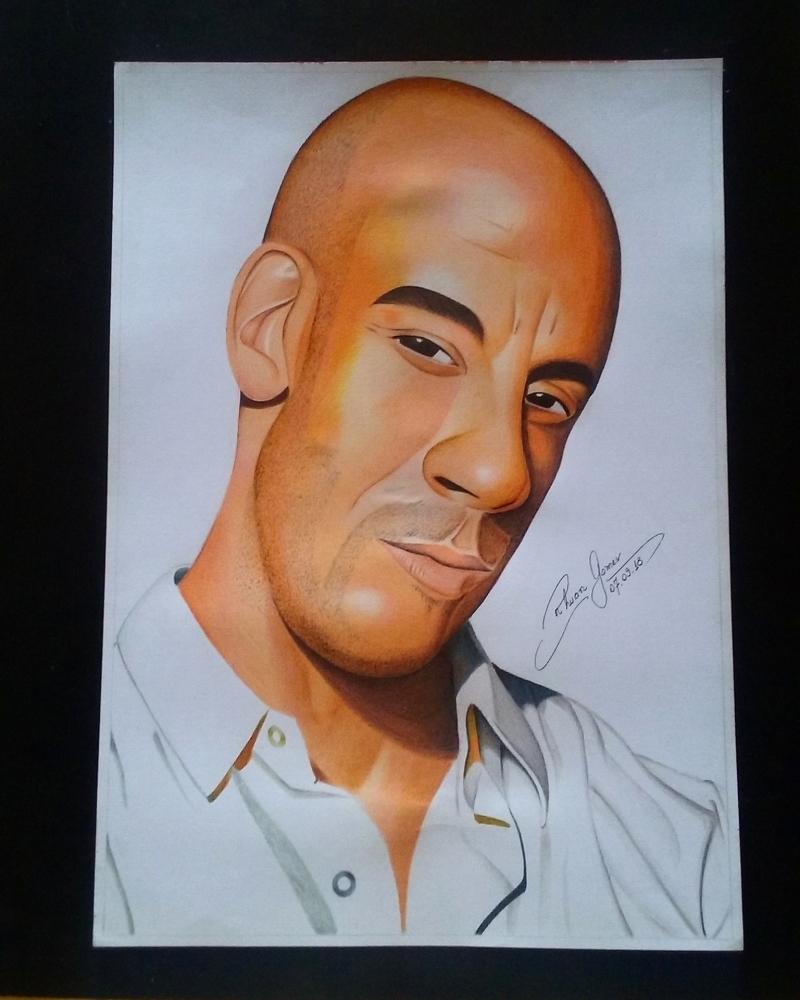 Vin Diesel by RhuanG